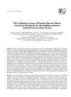 2013 Conand et al_Echinodermes holothuries_EUR.pdf